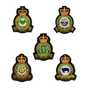 Royal-Air-Force-RAF-Station-Squadron-Tornado-MOD-Approved-Embroidered-Patches