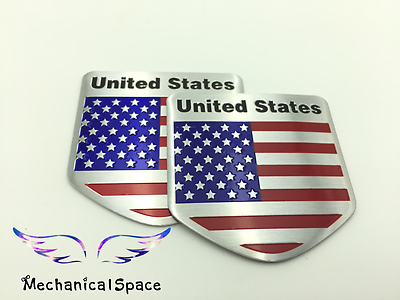 American flag chopper bike sticker USA Flag Cruiser Motorcycle Decal Sticker