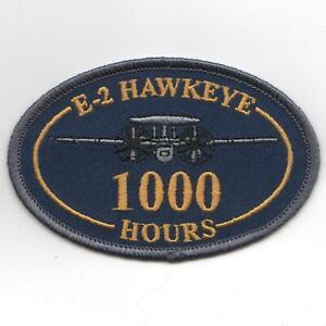 NAVY E-2 1000 HOURS HAWKEYE BLUE OVAL JACKET EMBROIDERED ...
