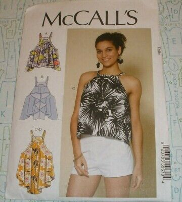 McCall/'s 7779 Sewing Pattern to MAKE Misses/' Tops with Hem Detail