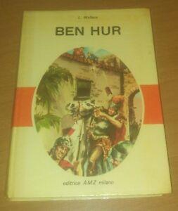 BEN-HUR-di-Lewis-Wallace-AMZ-1963-Illustrato-Romanzo-per-Ragazzi-Infanzia