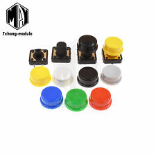 Momentary Tactile Push Button Switch 4p Withcap 12x12x731012mm A2tm