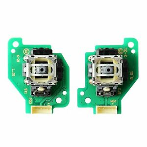 Analog-Stick-for-Nintendo-Wii-U-GamePad-Controller-with-PCB-Board-Left-Right-Set