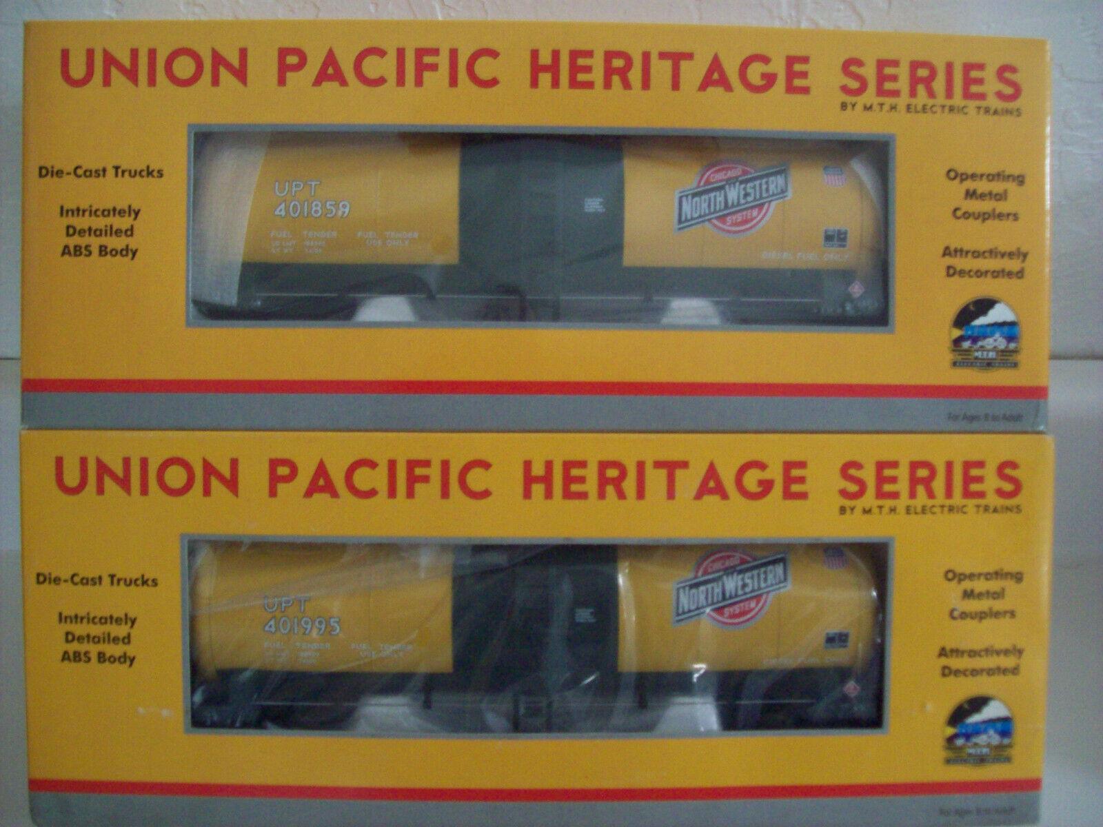 Mth U.P. Heritage checkago & North Western Tanker kits (401859) y (401995)