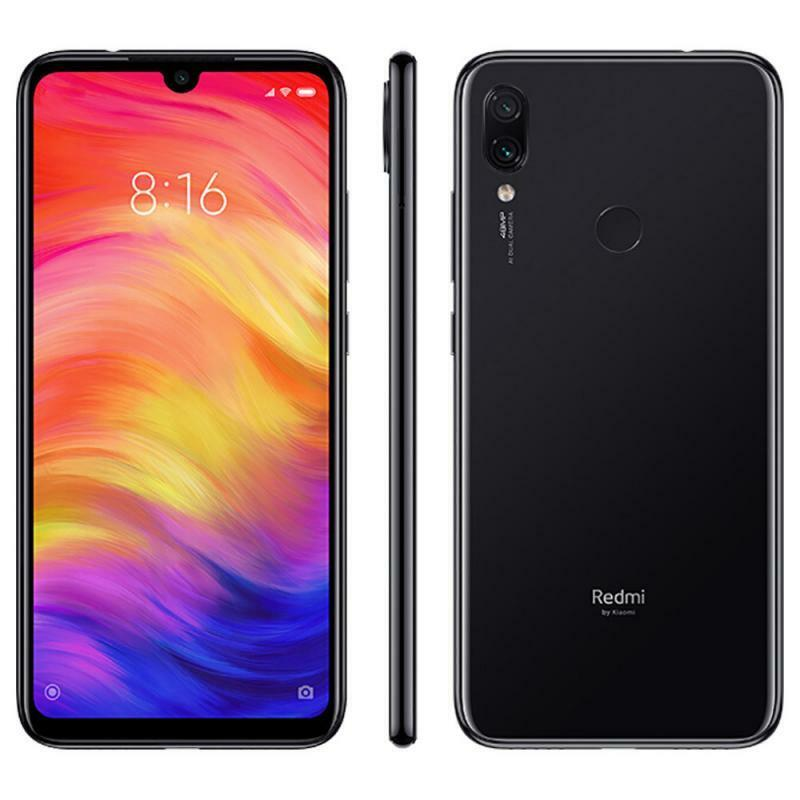 xiaomi: Xiaomi Redmi Note 7 – 32GB – batteria 4000 mAh, Nero (Space Black) – dual sim