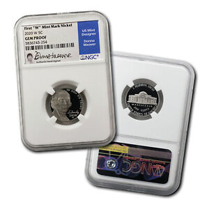 2020-W-Jefferson-Nickel-Signed-By-Donna-Weaver-NGC-Gem-Proof
