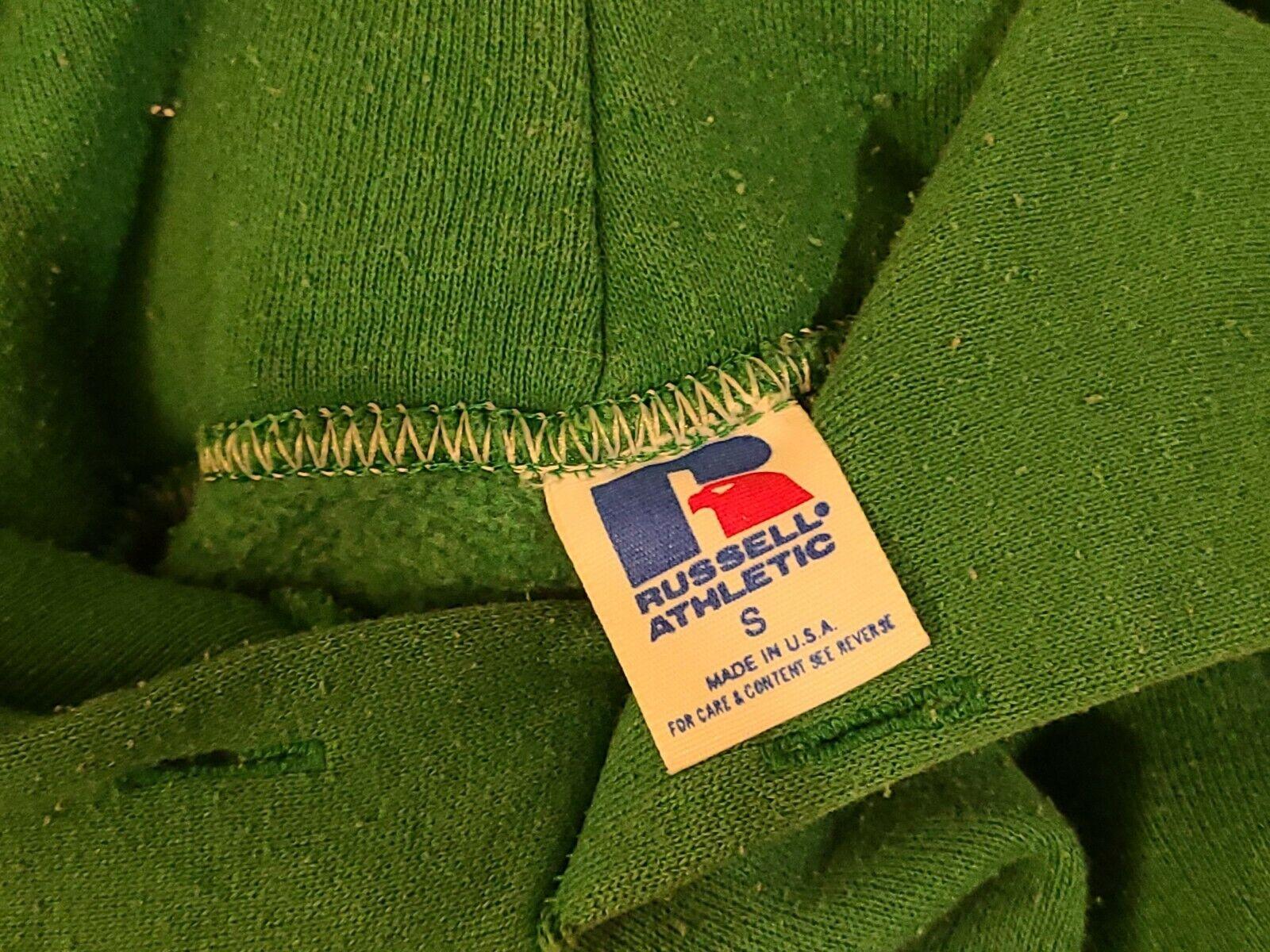Vintage  Russell Athletic Hoodie Sweatshirt 1970s  - image 3