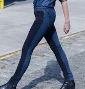 NEW-DL1961-Denim-Amanda-Skinny-Jeans-4-Way-Stretch-Color-Blocked-Oklahoma-178