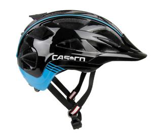 Casco de bicicleta casco activ 2 negro azul s 52-56 cm   18.04.0839.s