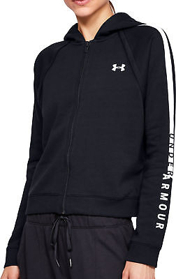 Unparteiisch Under Armour Rival Womens Fleece Training Hoody - Black