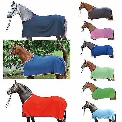 HKM Fleece Rug Stars Quick Absorber Breathable Care Horse Protection Blanket