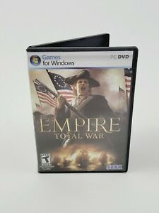 Empire: Total War (Windows Game PC DVD-ROM, 2009) Disc 1&2 with Manual