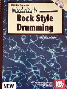 Noten & Songbooks Antiquarische Noten/songbooks Introduction To Rock Style Drumming Seien Sie Freundlich Im Gebrauch Erfinderisch Joe Maroni