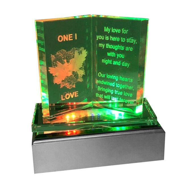 LED Light Valentines Day Gift Girlfriend GF Her Wife Birthday Anniversary Gifts For Sale Online