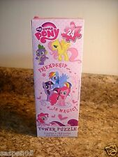 My Little Pony Tower Puzzle 24 Piece NEW Friendship is Magic