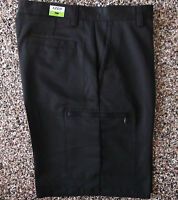 NWT Men's Izod XFG Cargo Golf Shorts  Black   40