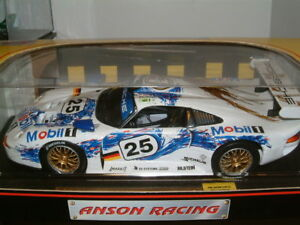1/18 Anson Porsche 911 Gt1 Le Mans, Stuck, Bolts, Clouds.   733734303221