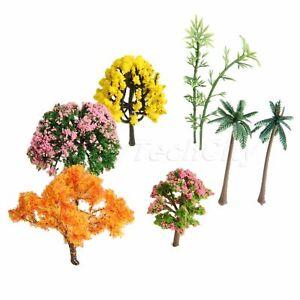 New Flower Tree Plant Miniature Landscape Fairy Dollhouse Garden Ornament Decor