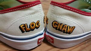 2d5431832b5576 Vans X CFG Camp Flog Gnaw Festival Authentic Size 9 golf wang ...