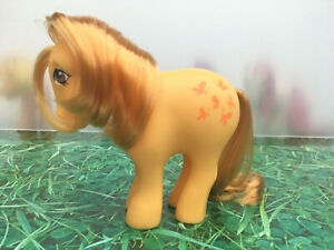 My-Little-Pony-G1-Butterscotch-Vintage-Toy-Hasbro-1982-Collectibles-MLP-VGC