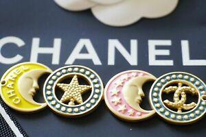 One-1-Auth-Chanel-button-1-pcs-cc-7-cm-or-3-inch-Emblem