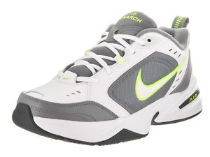 530553768c0 Nike AIR MONARCH IV Mens White Grey Volt 100 Lace Up Running ...