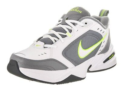 Nike AIR MONARCH IV Homme Gris Blanc Volt 100 Lacets Running Training Shoes | eBay