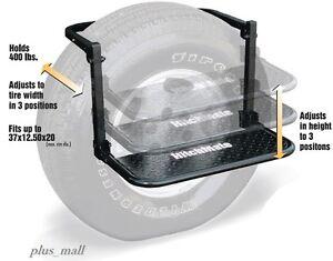 Truck Wheel Step Tire Stool Mount Adjustable Height