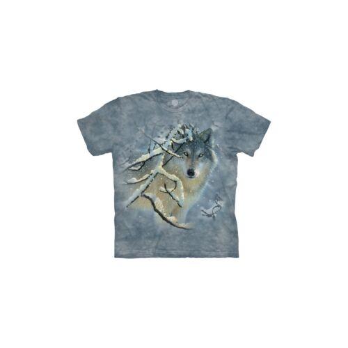 The Mountain Unisex Adult Broken Silence Wolf Animal T Shirt