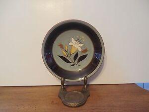 Vintage-Stangl-Pottery-Golden-Harvest-7-3-4-034-Plate-Free-Shipping