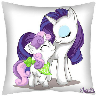 My Little Pony G4  Rarity and Sweetie Belle Pillow Case 40 X 60 CM