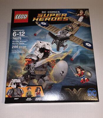 76075 Retired LEGO DC Comics Super Heroes Wonder Woman Warrior Battle 2017