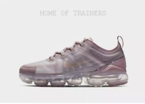 huge discount 6d262 d7394 Details about Nike Air VaporMax 2019 Light Pink Girls Women's Trainers All  Sizes
