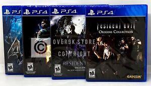 Resident-Evil-Bundle-Origins-4-5-6-PS4-Brand-New-Factory-Sealed