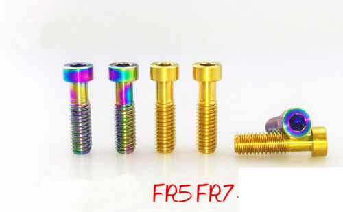 2pcs Titanium screws bolts for avid fr5 fr7 bicycle break handlebar
