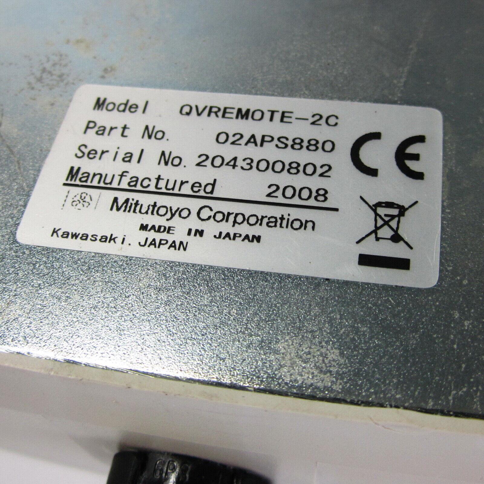 Image 41 - MITUTOYO QV REMOTE BOX P/N: 02APS880