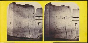 1860's STEREOVIEW PTOLEMAIC TEMPLE MAMMISI PHILAE EGYPT possibly Frank Goode