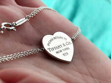 Tiffany & Co Return To Tiffany Heart Tag Sterling Silver Bracelet
