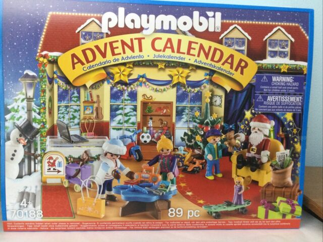 Playmobil Advent Calendar 70188 Christmas Toy Store New Sealed SAME DAY SHIPPING
