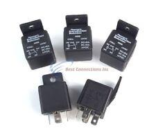 s l225 audiopipe 12 volt 5 pin spdt 30 40 amp relay socket auto car truck