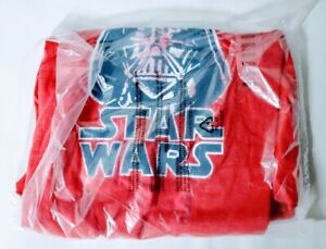 Star-Wars-Disney-Mens-Medium-M-Red-Heather-Darth-Vader-Tshirt-New-With-Tags-NWT