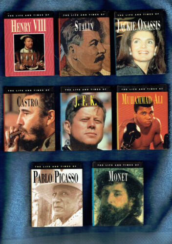 #ZZ10. LOT OF THIRTY TWO 32 SMALL BIOGRAPHY BOOKS ON FAMOUS PEOPLE