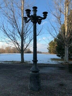Antique Vintage Historic Chicago Street Lamp Light Post Driveway Yard Ebay