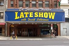 LATE SHOW WITH DAVID LETTERMAN *2X3 FRIDGE MAGNET* TALK GUESTS MUSIC CELEBRITY