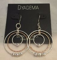 Gorgeous Dyadema Italy Sterling Silver Multi Wire Twirl Earrings