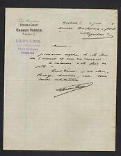 "MARSEILLE (13) PATES ALIMENTAIRES ""RIVOIRE & CARRET / CARRET Freres"" 1914"