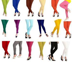 Churidar-Indian-Leggings-Women-Cotton-Stretchable-Lycra-Yoga-Ethnic-Legging-pant