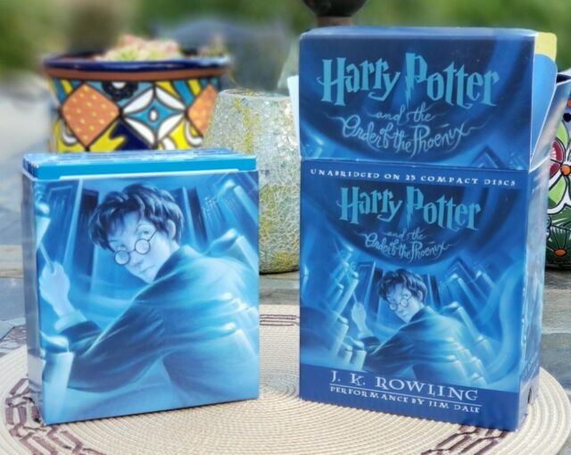 Harry Potter And The Order Of The Phoenix Unabridged AudioBook 23 Compact Discs