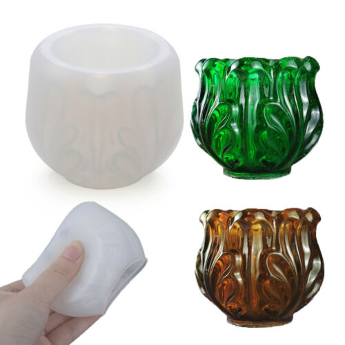 Box Candlestick Silicone Mould Jewelry Making Tools Ashtray Mold Resin Molds
