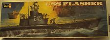 Revell 1/180 USS Flasher US Navy Submarine WWII From 1971 Kit #H-431 Very Nice